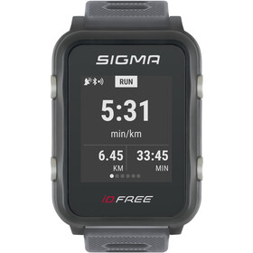 SIGMA SPORT iD.FREE Multi-Sport Watch, grey
